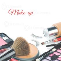 Tages-Make-up, Abend-Make-up, Braut-Make-up, Brauenkorrektur